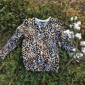 🍃🌸🆕{Cable & Gauge}: Leopard Cardigan🌸🍃